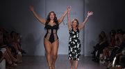 Popularna modelka XXL tańczy w samej bieliźnie