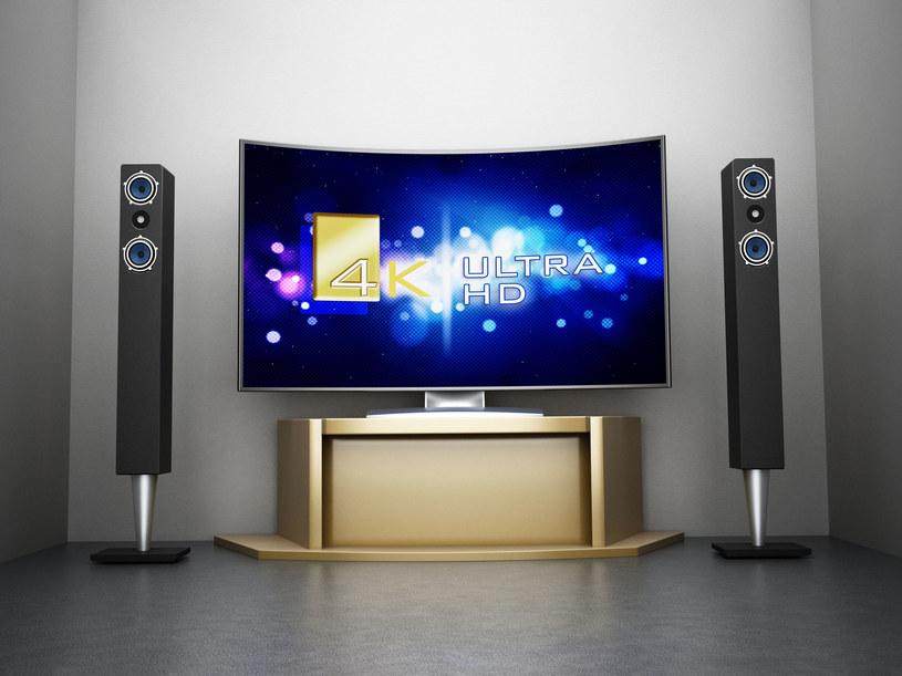 Popularność telewizorów UHD rośnie, ale bardzo powoli /123RF/PICSEL