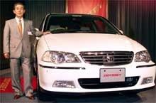 Popularny, poza granicami naszego kraju, minivan - Odyssey (fot. EPA) /INTERIA.PL