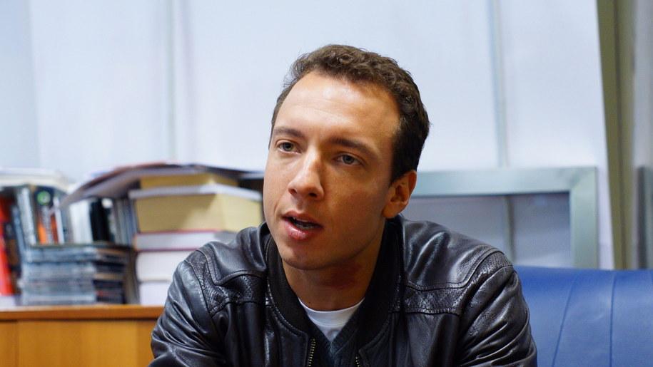 Poranny gość Tomasza Skorego /Michał Dukaczewski /RMF FM
