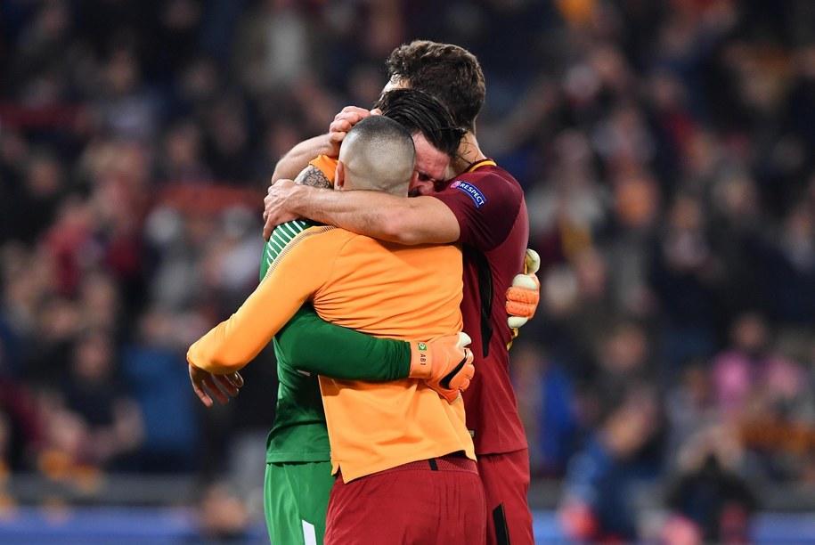 Porażka Barcelony w Lidze Mistrzów /ETTORE FERRARI /PAP/EPA