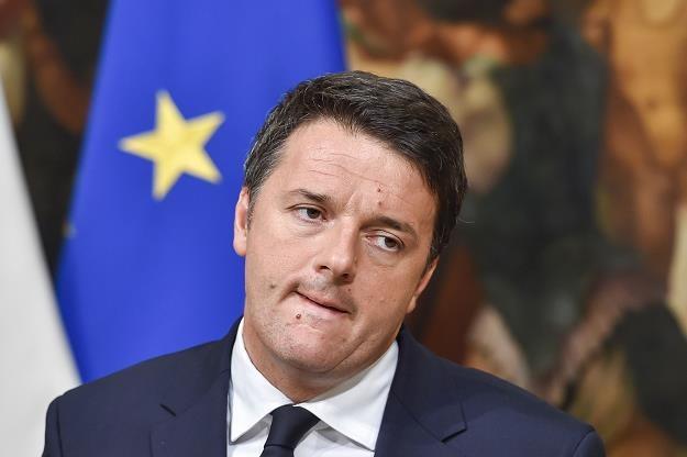 Porażka referendum Renziego to cios dla włoskiej gospodarki i strefy euro /AFP