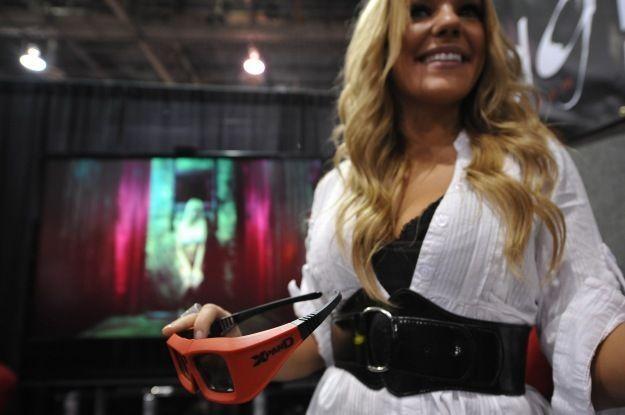 Pornografia 3D w 2011 roku stanie się standardem - jakkolwiek dziwnie, by to nie brzmiało /AFP