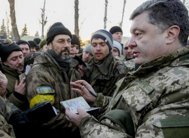 Poroszenko chce międzynarodowej misji pokojowej na wschodzie Ukrainy