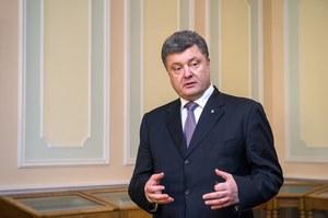 """Poroszenko w """"Washington Post"""": Otwartej wojny z Rosją nie będzie"""