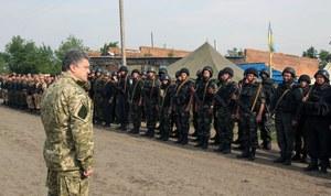 Poroszenko wzywa wschód Ukrainy, by poparł jego plan pokojowy