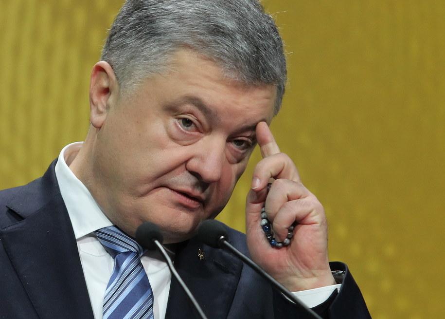Poroszenko zareagował na doniesienia mediów /STEPAN FRANKO /PAP/EPA