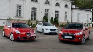 Porównanie: Alfa Romeo Giulietta, Citroen DS4, Volvo V40