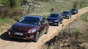 Porównanie: Audi A4 Allroad, Peugeot 508 RXH, Subaru Outback, VW Passat Alltrack