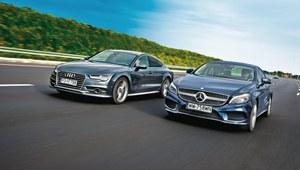 Porównanie: Audi A7 Sportback, Mercedes CLS