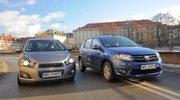 Porównanie: Chevrolet Aveo, Dacia Sandero