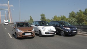 Porównanie: Citroen C3 Picasso, Fiat 500L, Ford B-Max