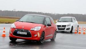 Porównanie: Citroën DS3, Suzuki Swift Sport