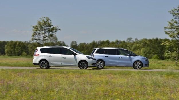 Porównanie: Citroen Grand C4 Picasso, Renault Grand Scenic /Motor