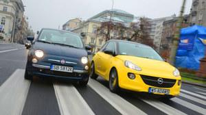 Porównanie: Fiat 500, Opel Adam