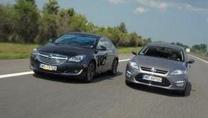 Porównanie: Ford Mondeo, Opel Insignia