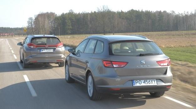 Porównanie: Honda Civic Tourer, Seat Leon ST /Motor