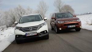Porównanie: Honda CR-V, Mitsubishi Outlander
