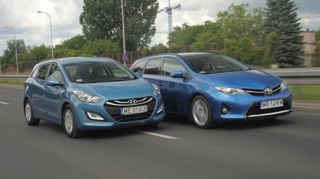 Porównanie: Hyundai i30 Wagon, Toyota Auris Touring Sports /Motor