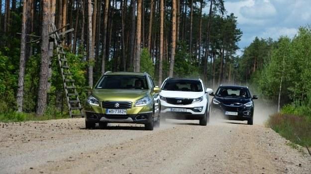 Porównanie: Hyundai ix35, Kia Sportage, Suzuki SX4 S-Cross /Motor