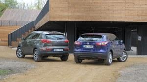 Porównanie: Kia Sportage, Nissan Qashqai