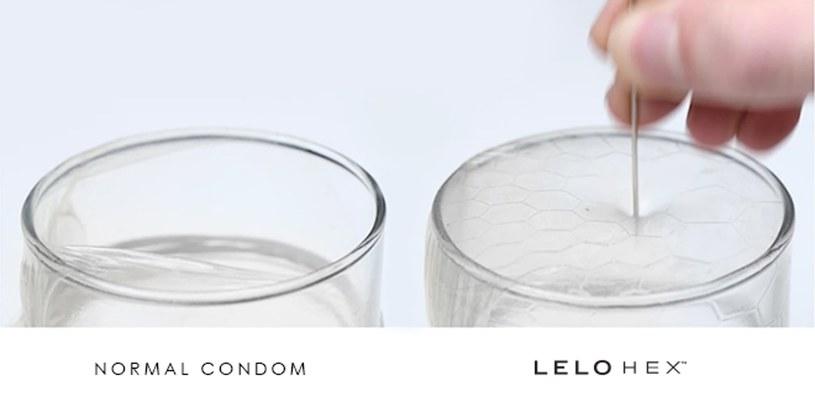 Porównanie klasycznej prezerwatywy z Lelo Hex /materiały prasowe