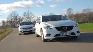 Porównanie: Mazda 6 Sport Kombi, Volkswagen Passat Variant