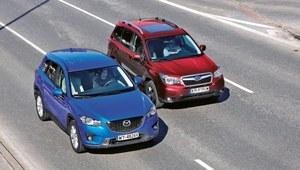 Porównanie: Mazda CX-5, Subaru Forester
