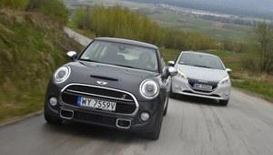 Porównanie: Mini Cooper S, Peugeot 208 GTi
