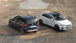 Porównanie: Mitsubishi ASX, Skoda Yeti