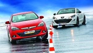 Porównanie: Opel Astra GTC 1.6T, Peugeot RCZ 1.6 THP