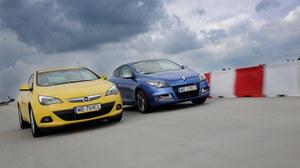 Porównanie: Opel Astra GTC, Renault Megane Coupe