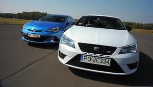 Porównanie: Opel Astra OPC, Seat Leon SC Cupra 280