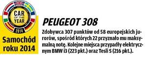 Porównanie: Peugeot 308, Volkswagen Golf /Motor