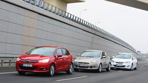 Porównanie samochodów używanych: Citroen C4 II, Fiat Bravo, Opel Astra IV