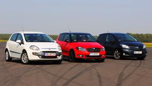 Porównanie samochodów używanych: Fiat Punto, Skoda Fabia, Toyota Yaris