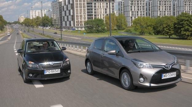 Porównanie: Skoda Fabia, Toyota Yaris /Motor