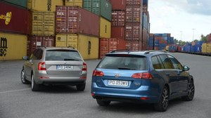 Porównanie: Skoda Octavia Combi, Volkswagen Golf Variant