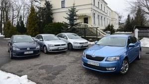 Porównanie: Skoda Octavia, VW Golf, VW Jetta, VW Passat
