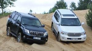 Porównanie: Toyota Land Cruiser 150, Toyota Land Cruiser V8