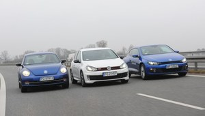 Porównanie: Volkswagen Beetle, Golf, Scirocco