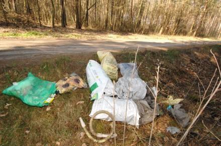 Porozrzucane śmieci to częsty widok w polskiej rzeczywistości. /© Bauer