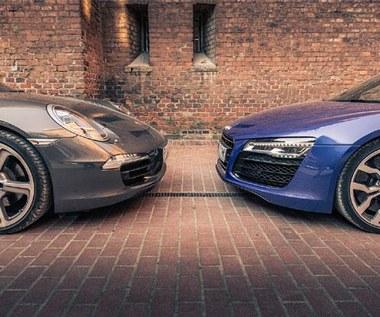 Porsche  911 czy audi R8. Które auto wybierasz? Ankieta