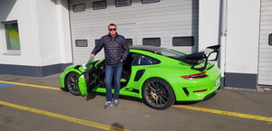 Porsche 911 GT3 RS. Ambitny cel dziennikarza Interii!