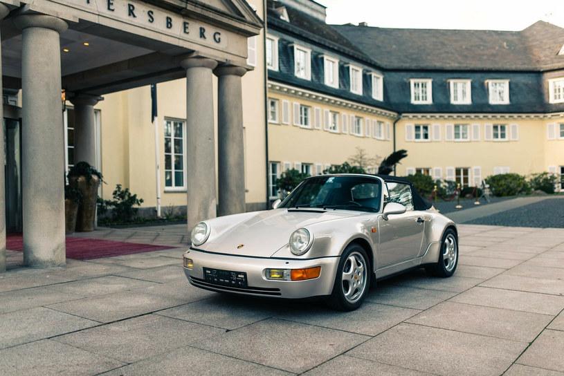 Porsche 911, które kiedyś należało do Diego Maradony /Bonhams/Golders/EuroPics /East News