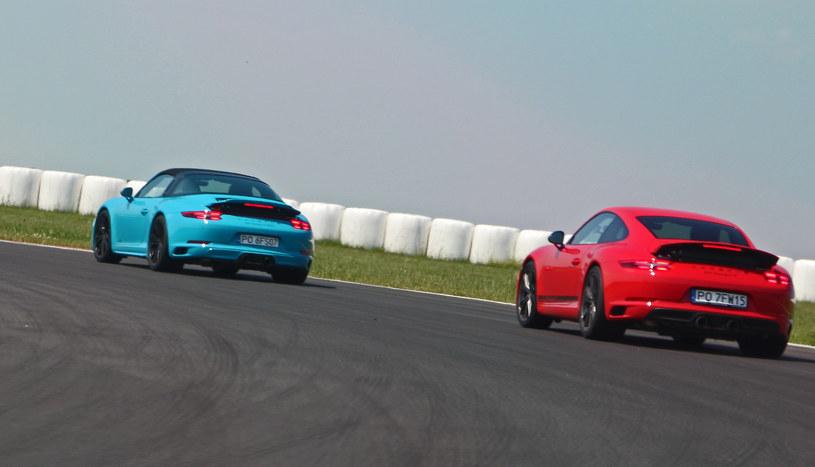 Porsche 911 Targa 4 GTS i Carrera T /INTERIA.PL