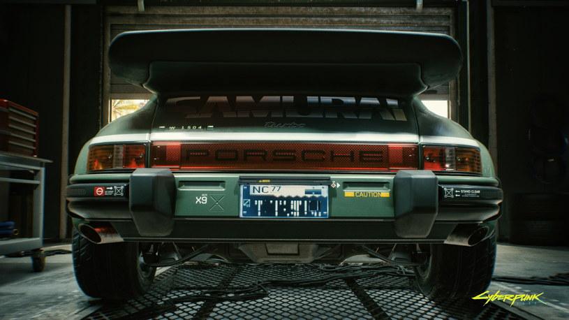 Porsche 911 Turbo (930) w Cyberpunku 2077 /