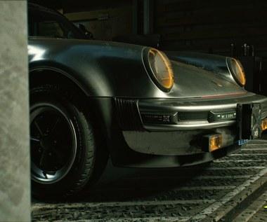 Porsche 911 w Cyberpunk 2077, bo Keanu Reeves nie może jeździć byle czym