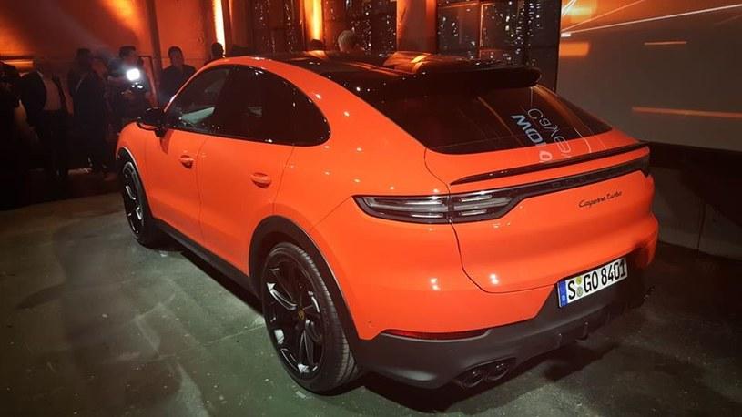 Porsche Cayenne Coupé /INTERIA.PL