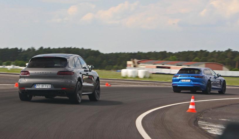 Porsche Macan Turbo w pogoni za Panamerą 4 E-Hybrid /INTERIA.PL